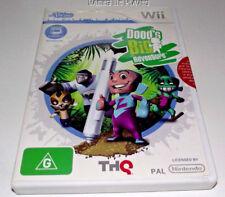 Dood's Big Adventure uDraw Nintendo Wii PAL *Complete* Wii U Compatible
