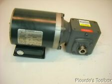"Used Reliance Electric 1/4"" HP P56X1331 Motor w/ Boston Series 700 GearBox"