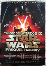 STAR WARS Prequel Trilogy 6-Disc DVD Set Canadian Region 1 RARE OOP!