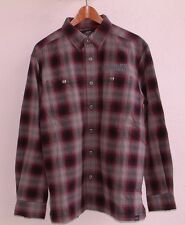 HARLEY DAVIDSON MOTORCYCLES L/S PLAID SHIRT JACKET QUILTED INTERIOR MEDIUM NWOT