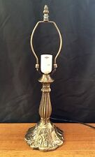 "MEDIUM METAL TABLE LAMP BASE stand Holder for 11"" - 12"" TIFFANY light shade"