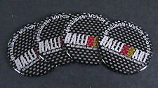 RALLIART Wheel Centre Badges EVO LANCER FTO GTO GALANT COLT TURBO