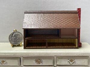 Vintage Artisan NEWSTROM '83 Tiny Dollhouse For Your Dollhouse Miniature 1:12