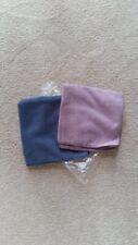 "Norwex BODY CLOTH 2 PACK Lavender Blue Ultra Soft Microfiber BacLock 12.6"" New"