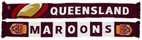 Queensland Maroons QLD State Of Origin NRL Banner Jacquard Scarf! S.O.O.