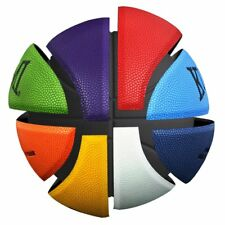 Kuangmi Colorful Basketball PU Leather Indoor/Outdoor for Women Girls Size 6