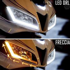 Strisce LED Auto Luci Diurne DRL + Frecce Dinamiche SEQUENZIALI Flessibili 45 CM