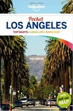 Los Angeles voyage lonely planetPocket 4 édition Anglais Broché + free map