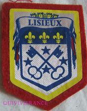 BG5872 - PATCH ECUSSON TISSU BLASON VILLE DE LISIEUX