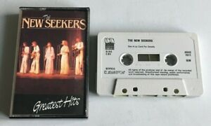 THE NEW SEEKERS - GREATEST HITS music cassette tape (ARAC 1011)