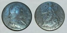 ☆ AUTHTHENTIC !! ☆ 1775 King George III Revolutionary War Coin !! ☆ GOOD DETAIL