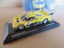 12H IXO Altaya 14 Lotus Elise GT1 # 49 LM 1997 1:43