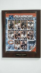 Chicago Bears 2006-2007 Conference Champions Plaque