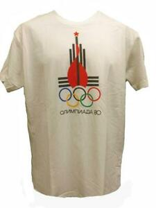 New 1980 Russia Moscow Olympics Mens Sizes M-L-XL-2XL Licensed Shirt