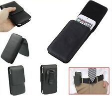 for ALCATEL ONE TOUCH PIXI 3 4.5 5017A (2015) Case Belt Clip  Synthetic Leath...