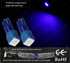 LED SMD T5 286 Wedge Xenon Blue Dash Cluster Speedo Instrument Bulbs Lights