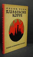Blum - Russische Köpfe - Berlin 1923