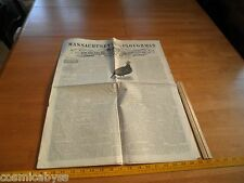 Massachusetts Ploughman 1888 newspaper Agriculture Farming Turkey Cock
