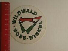 Aufkleber/Sticker: Wildwald Voss Winkel (12011718)