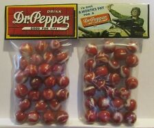 2 Bags Of Dr. Pepper Good For Life Soda Promo Marbles