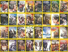 Attack on Titan Manga Series Set Vol 1-32 by Hajime Isayama in English BRAND NEW