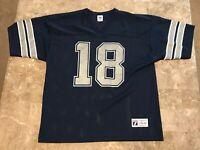 Bernie Kosar #18 Dallas Cowboys NFL Vintage 90s Logo 7 Jersey Adult Size L 46-48