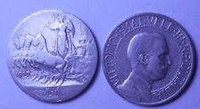 1 Lira 1910 quadriga veloce  conservazione MB