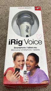 IK Multimedia iRig Voice Smartphone/ Tablet Mic Brand New & Sealed  MSRP $39.99