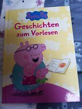 grosses Peppa Pig Buch, 78 Seiten, Geschichten zum Vorlesen, neuwertig