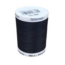 Gutermann Sew-All Thread Polyester Black 1000 m