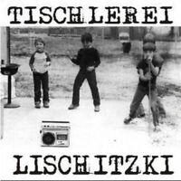 TISCHLEREI LISCHITZKI Treppenbau & Punkrock LP (2003 Eigenlabel) Neu!