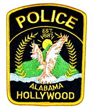 HOLLYWOOD ALABAMA AL Sheriff Police Patch FLYING EAGLE SUNRISE MOUNTAIN ~