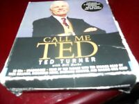Call Me Ted : with  Bill Burke and Ted Turner (2008, CD, Unabridged), free shipp