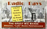 Cassette Radio Days Count Basie Jazz in the Round 1958 Great Big Bands SEALED