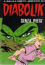 fumetto DIABOLIK ANNO XXXII numero 4