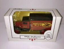 ERTL 1:34 Anheuser Busch Delivery Beer Truck 1931 Diecast Metal Coin Bank w/ Key