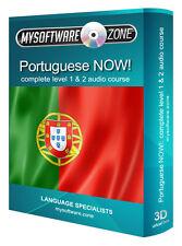 Aprende Hablar portugués ahora completo de nivel 1 2 Audio Curso De Lengua Mp3 Cd De Regalo