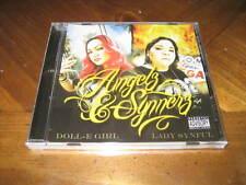 Chicano Rap CD Doll-E Girl & Lady Synful - Angelz & Synnerz - Cecy B Diamonique