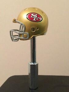 San Francisco 49ers Helmet NFL Beer Tap Handle Kegerator NFC Lifetime Warranty