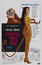 WHAT'S UP TIGER LILY? - Woody Allen, Tatsuya Mihashi  ALL REG SEALED DVD