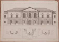 RICORDI DI ARCHITETTURA FABBRICATO VIA DEI LAMBERTI CENTRO FIRENZE TOSCANA 1899