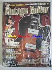 VINTAGE GUITAR Magazine SEALED Ago 2008 Jimmy Page John McFee Chirs Miller No*cd