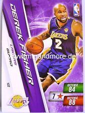 NBA Adrenalyn XL 2011 - Derek Fisher #122 - Lakers