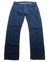 W34 L33 New Mens Ex MARKS and SPENCER M&S Straight Fit Jeans Waist 34 Length 33