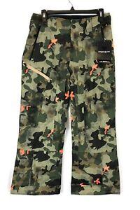 Obermeyer Boy's Camo Parker Snow Pants, Size L