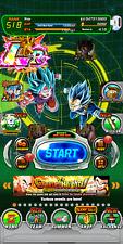 Dokkan Battle Global LR Goku&Vegeta Blue, Both Blue LRs, 5282 Stones Android