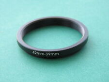 42mm-39mm Stepping Step Down Male-Female Filter Ring Adapter 42mm-39mm