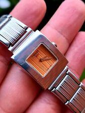 TISSOT 1853 L610K Swiss Made Quartz Ladies Watch Very Rare Working Full Steel