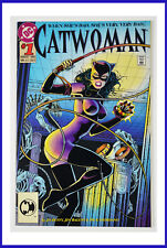 Catwoman #1 (DC, August 1993) Embossed Cover NM+ Comic Book