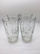 Glasses, Clear, 16 oz, Set of 4 Bormioli Rocco Diamond Cooler